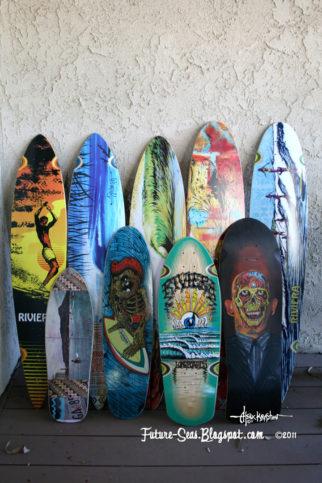 сърф дъски дизайн на Алекс