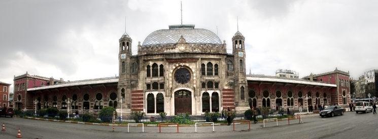 гарата в Истанбул