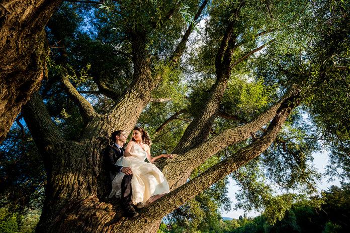 киното в сватбите