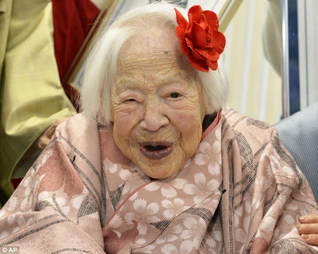 най-възрастната жена