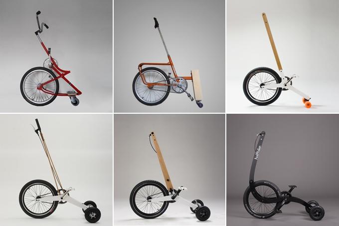 Еволюцията на Halfbike