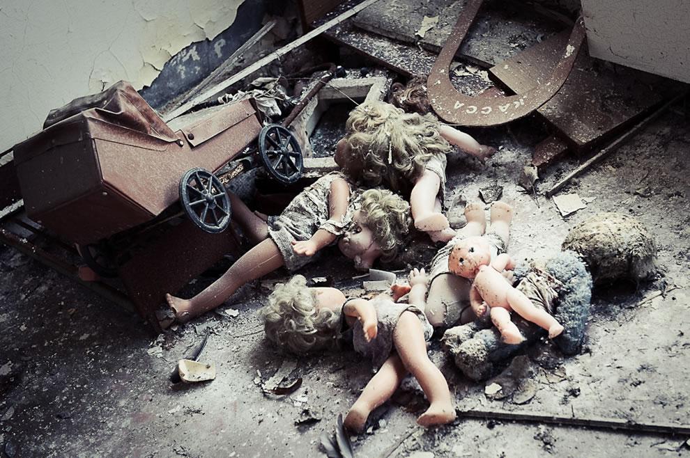 детска градина Припят дестинация Чернобил