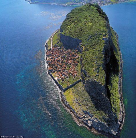 Монемвасия, Гърция