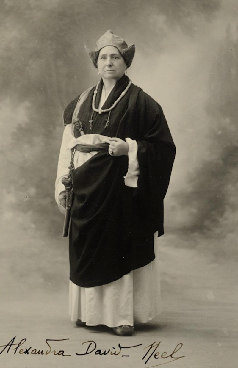 Александра Дейвид-Нийл в Тибет