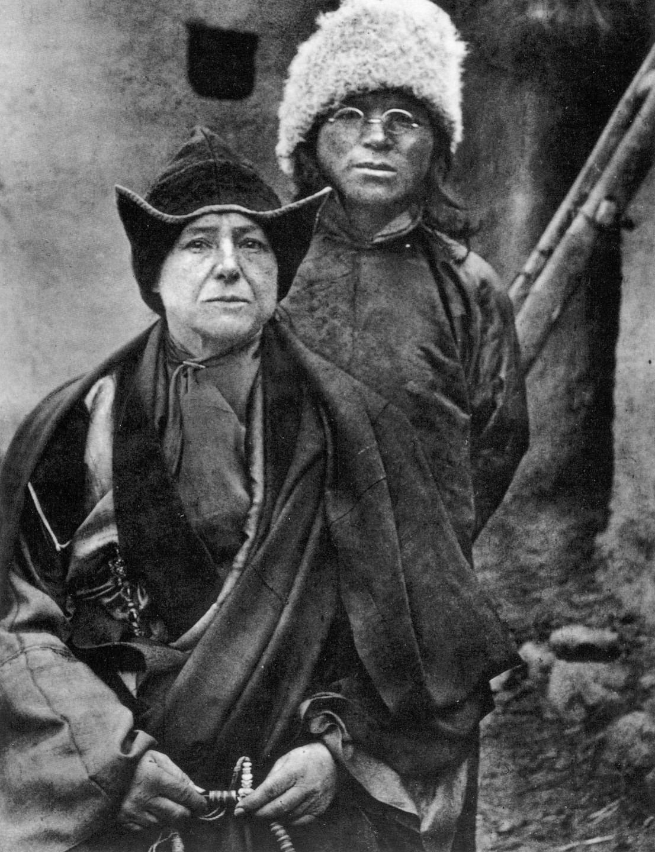 Александра Дейвид-Нийл - първата европейка в Тибет