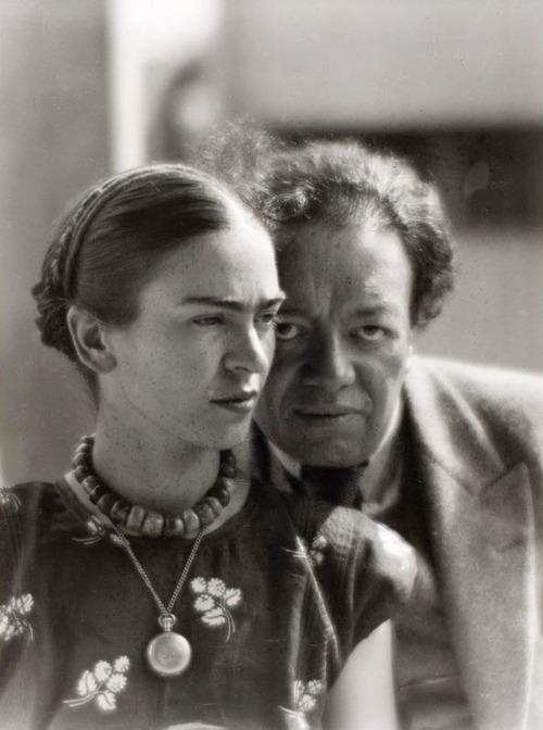 Фрида Кало и Диега Ривера