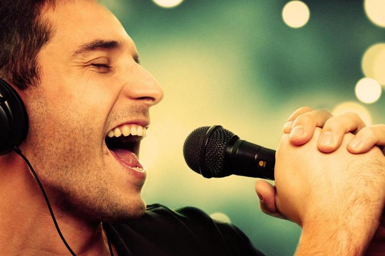 man_singing