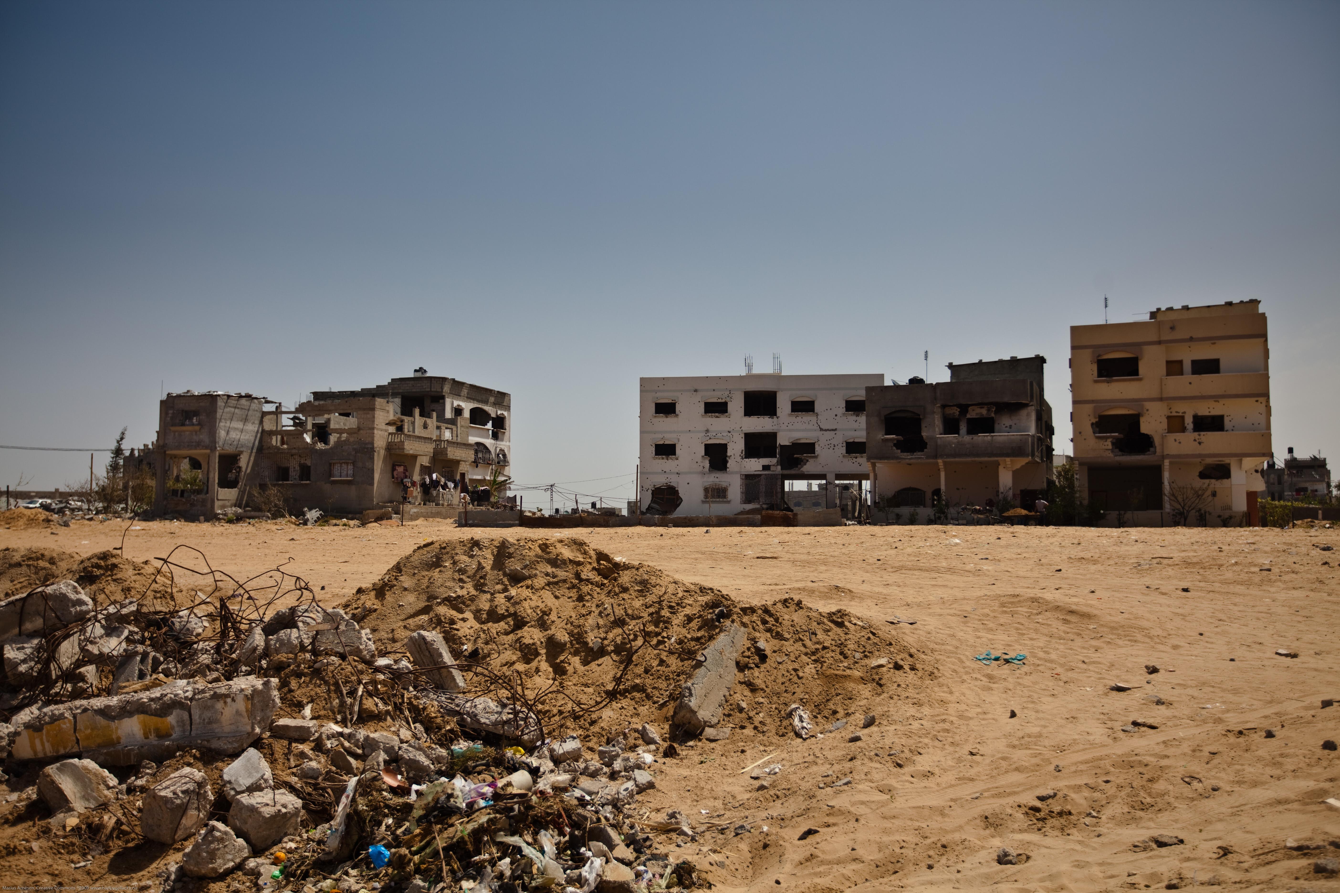 разруха - Газа