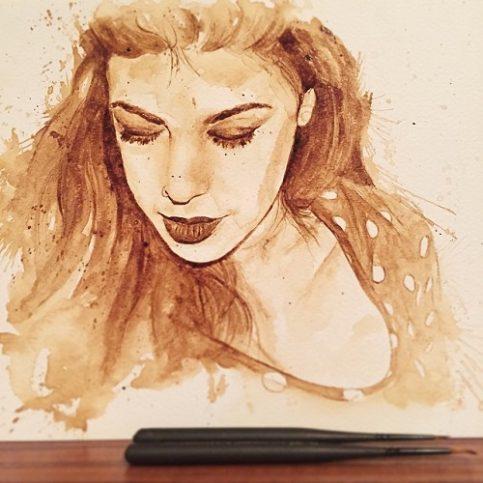 картини от кафе