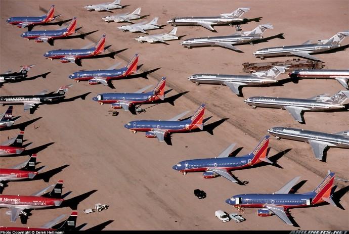 Мохаве самолети