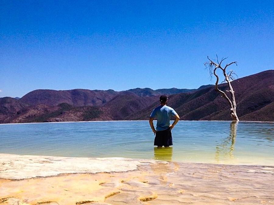 Hierve el Agua in Mexico