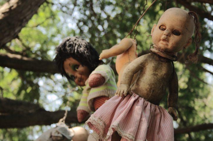 Островът на куклите в Мексико