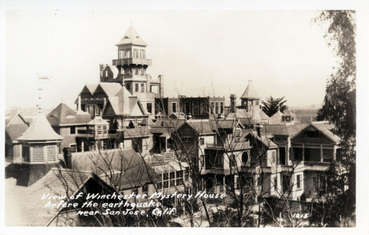 Winchester Mystery House in the past
