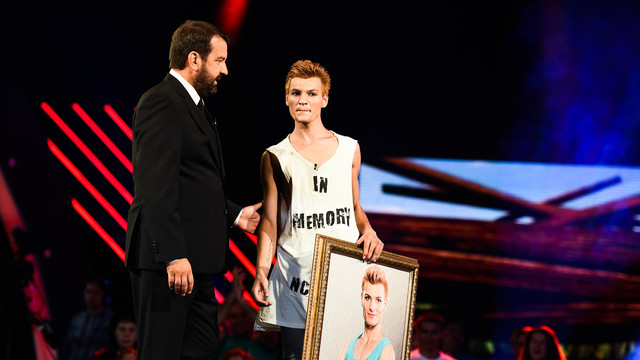 Ники Кънчев с един от най-скандалните участници в шоуто.
