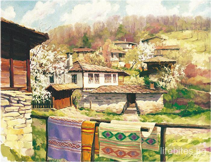 пролет България месец март