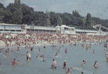 Централният плаж във Варна.
