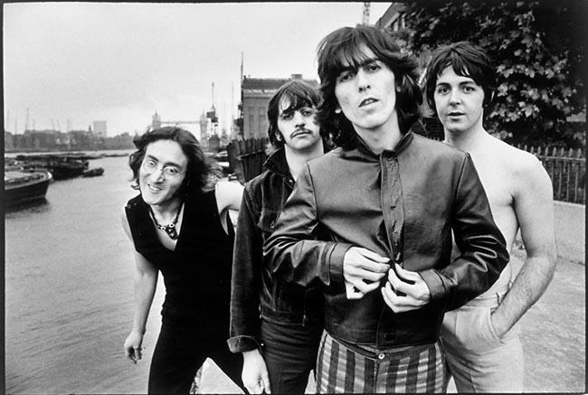 Бийтълс, Лондон, 1968 г.