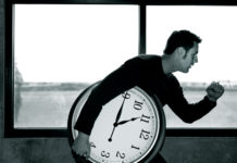 време