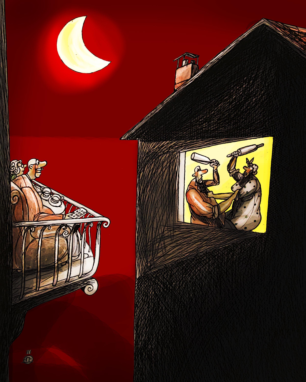 Автор на карикатурата е Дарко Дрлжевич от Черна Гора.