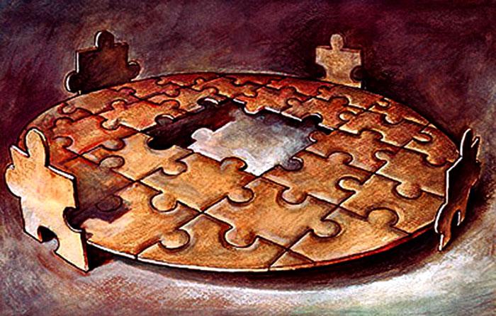 Карикатура на Михай Игнат от Румъния.