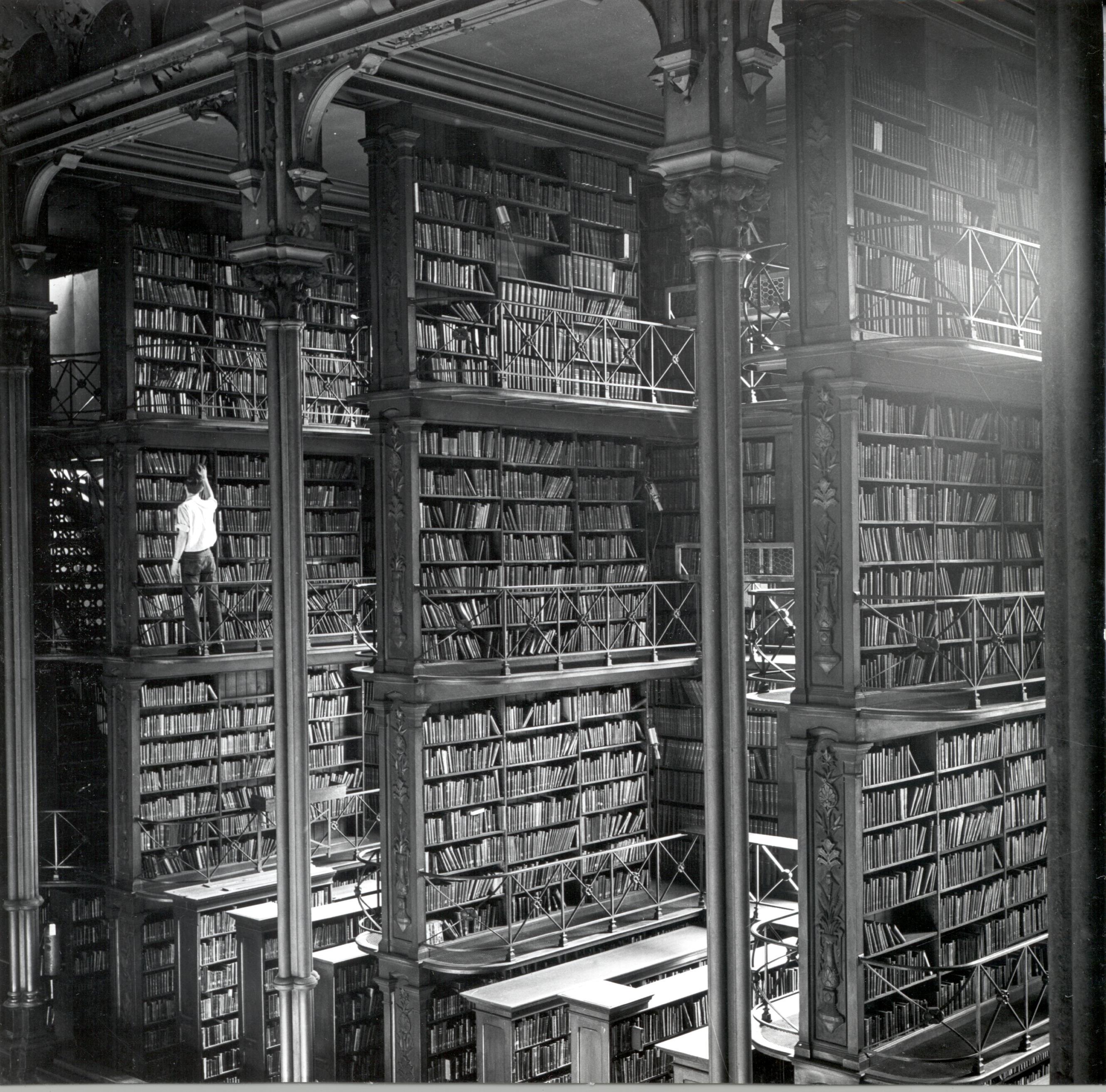 Обществената библиотека на Синсинати е място, излязло сякаш от филмите за Хари Потър.