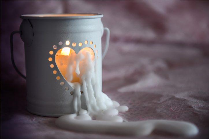 candle - свещ