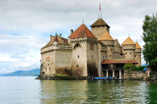 Женевското езеро Швейцария
