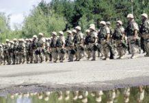 казармата - войници