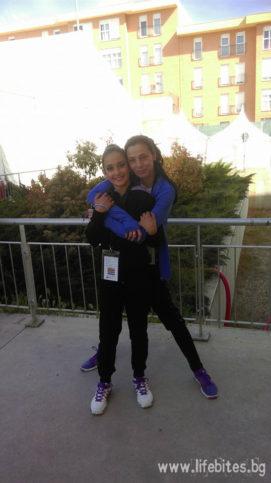 Ивка и Патрисия Риера в Гуадалахара на шампионата на Испания 2015.