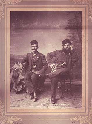 Тане Николов и Бай Постоль Ениджевардарското слънце