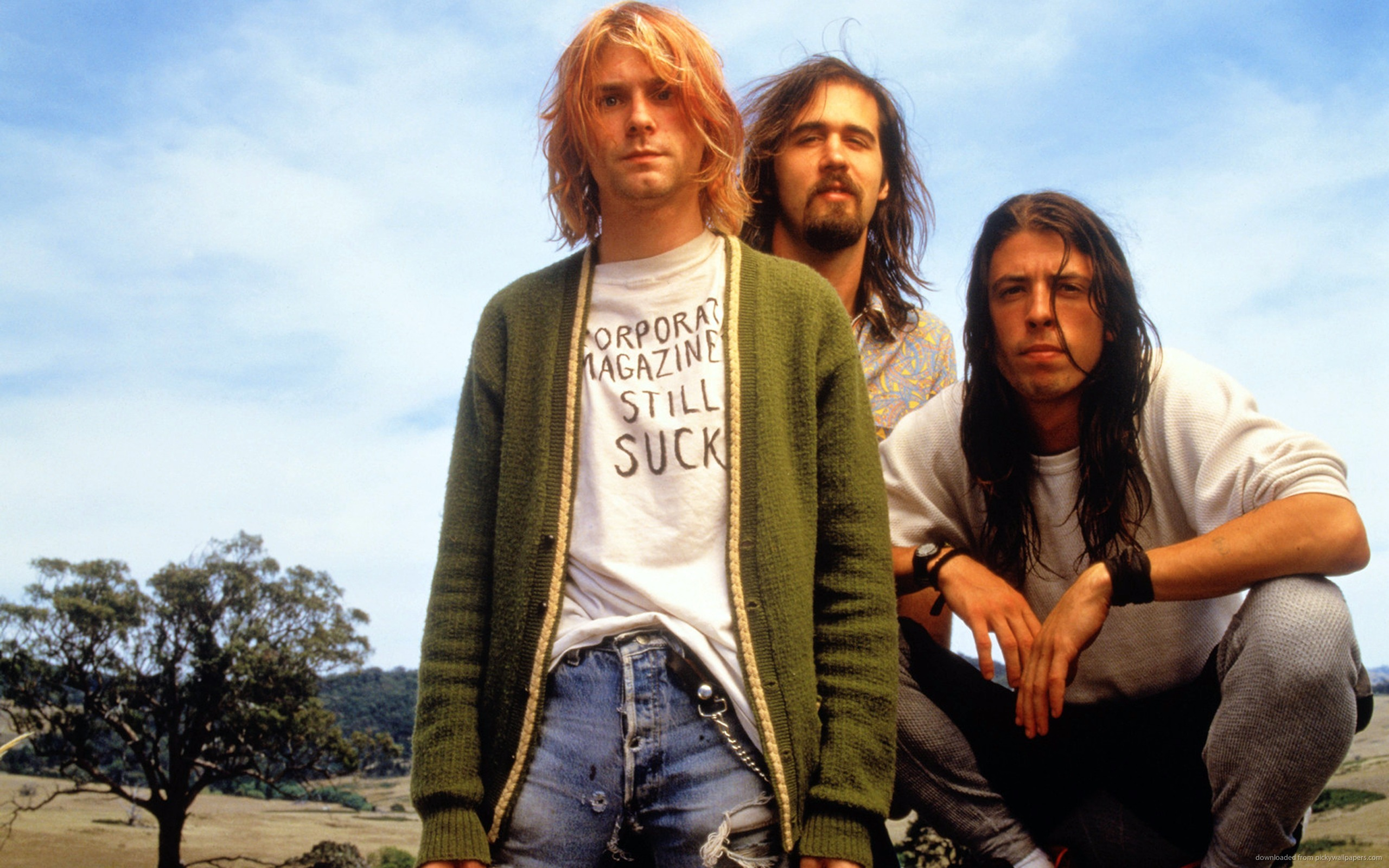 Kurt-Cobain-Style-Photo-Nirvana-Green-Sweater