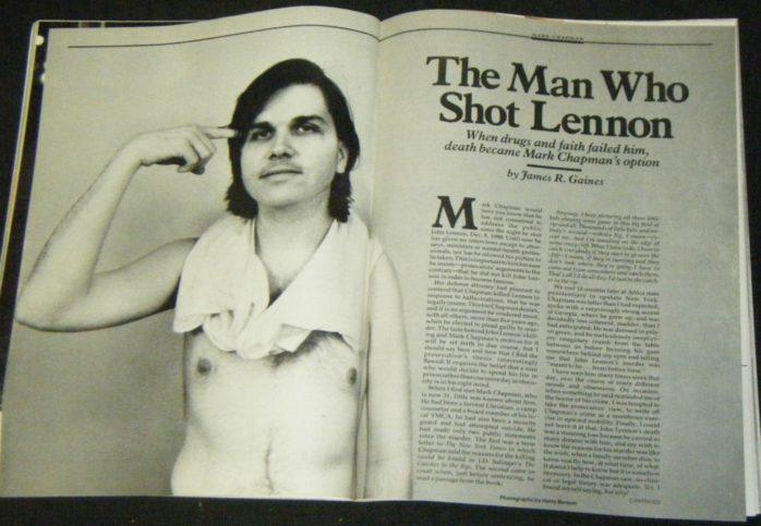 Статия за Марк Дейвид Чапман в сп. People от 1987 г.