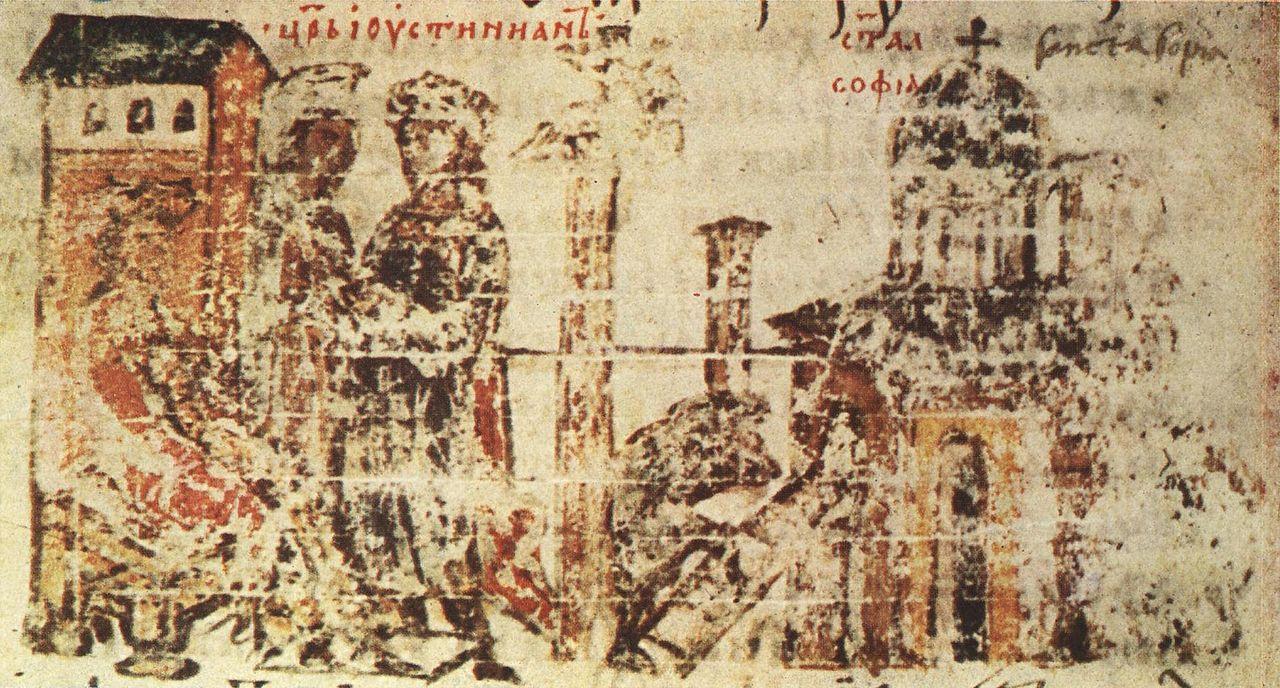 храм Света София Манасиевата хроника