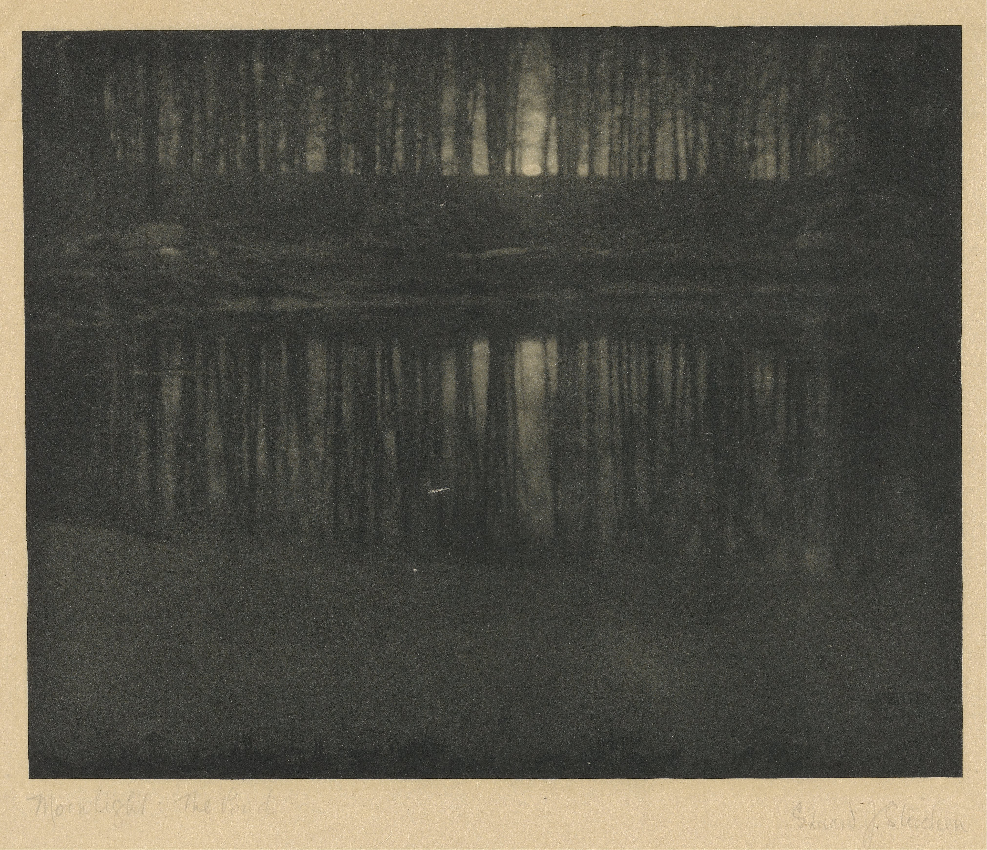 Edward_Steichen_(American_-_Moonlight-_The_Pond_-_Google_Art_Project