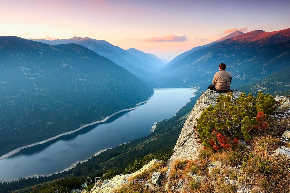Above Beli Iskar lake in Rila Mountain