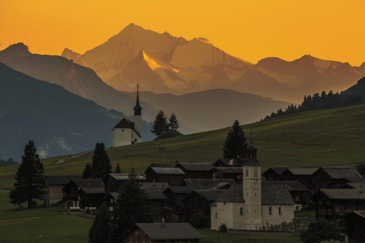 спасяване на живот в Швейцария