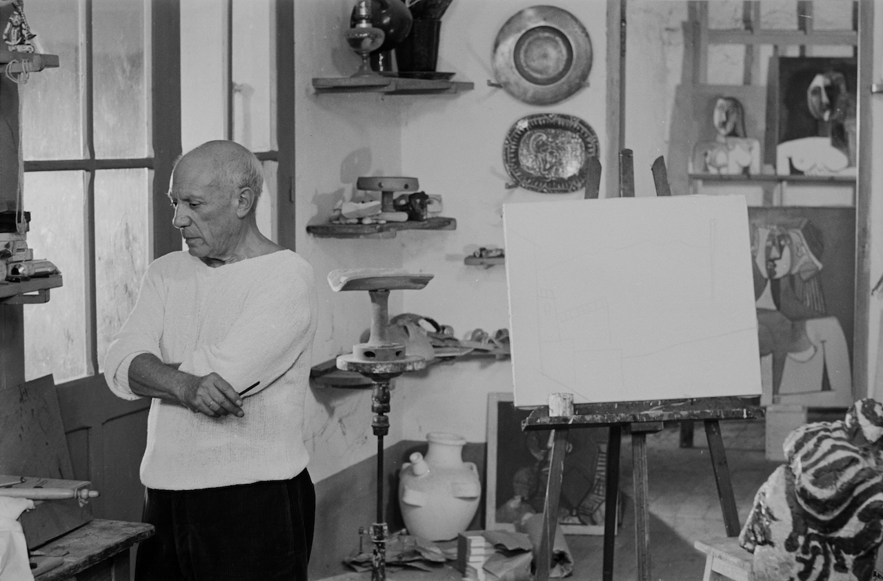 QUINN-PICASSO-IN-THE-STUDIO