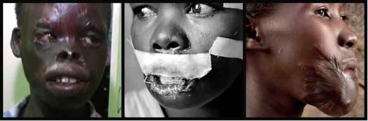 Кони Уганда жертви