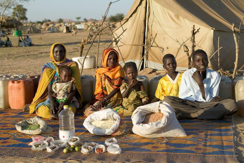 Сем. Абубакар от Дарфур, Судан