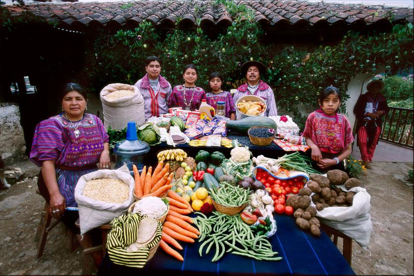 Сем. Мендоса от Тодос Сантос, Гватемала