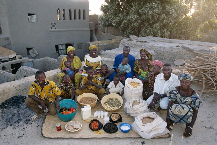 Сем. Натомо от Куакури, Мали