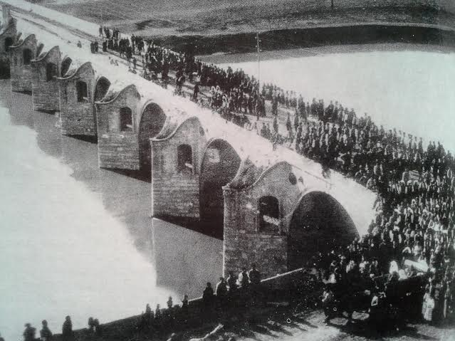 мостът край Бяла