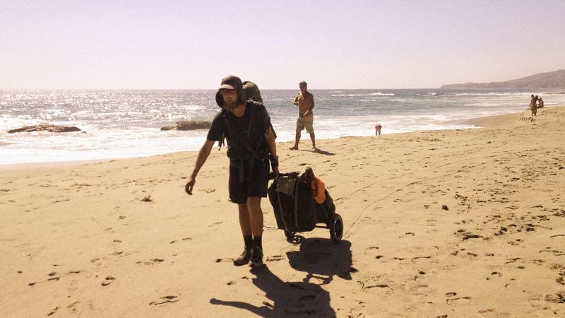 Greg Hindy walks across the USA
