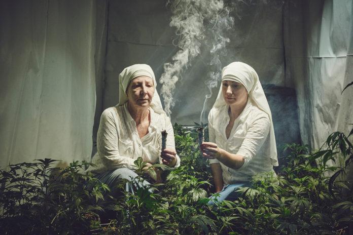 монахини - марихуана