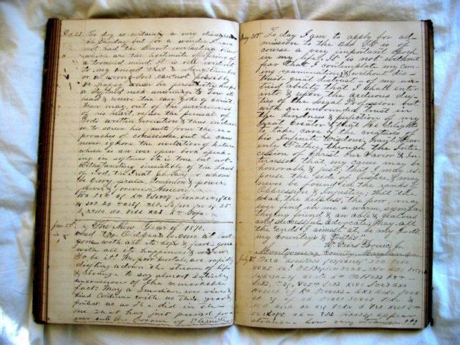 Дневникът ви трябва да е личен Снимка: Barnaby via Foter.com / CC BY