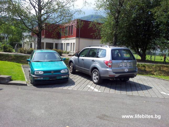 коли без регистрационни табели се виждат често в Швейцария