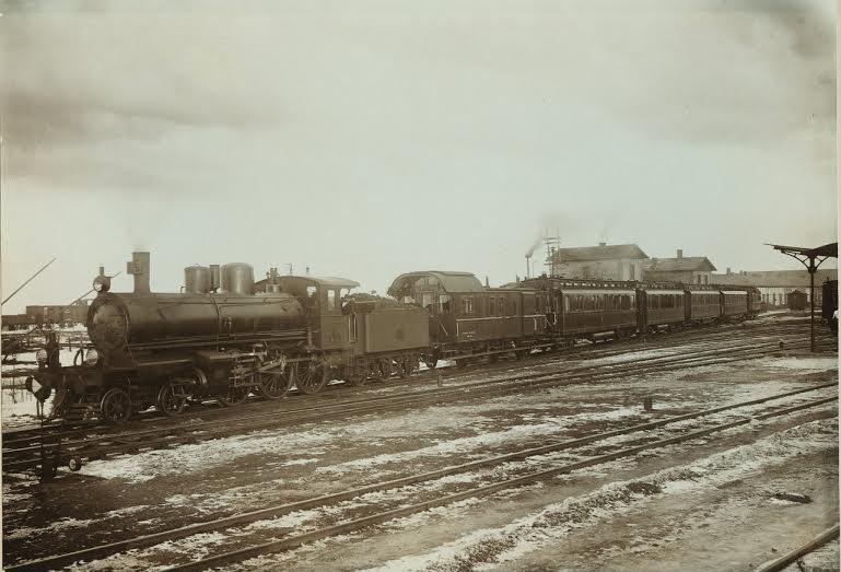 царският влак на царската спирка