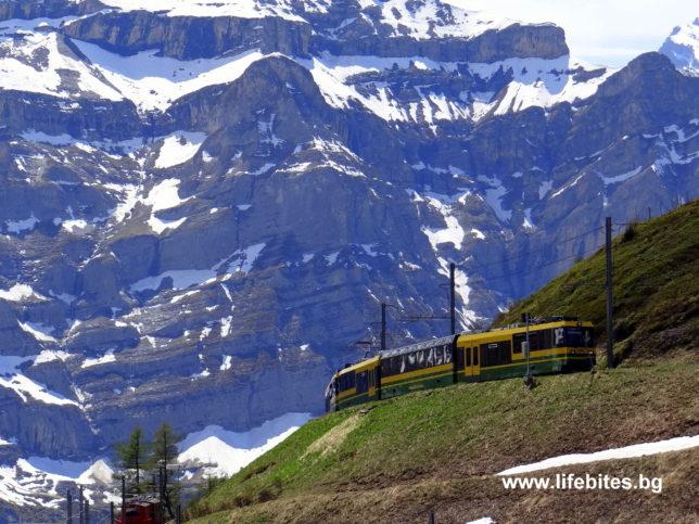 влак в Швейцария