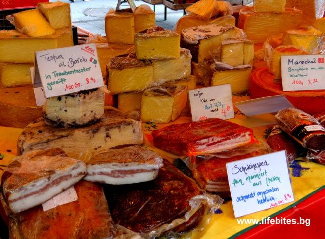 месо и сирене в Швейцария