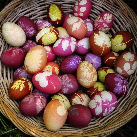великденските размисли яйца